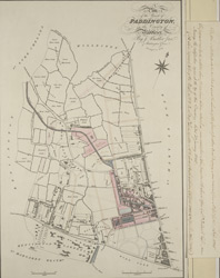 Plan of the Parish of PADDINGTON in the County of Middlesex 4